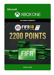 Fifa 18 Ultimate Team 2.200 Points (Digitaal Code) Xbox One