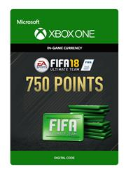 Fifa 18 Ultimate Team 750 Points (Digitaal Code) Xbox One