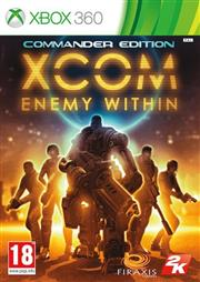 XCOM Enemy Within Commander Edition Xbox 360