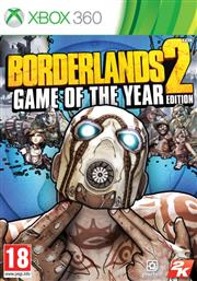 Borderlands 2 Game of the Year Xbox 360
