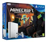 Sony Playstation 4 Console (Slim) 500 GB Wit + Minecraft