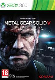 Metal Gear Solid 5 (V) Ground Zeroes Xbox 360