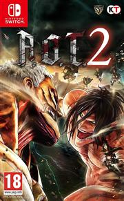 A.O.T. Attack on Titan 2 Nintendo Switch