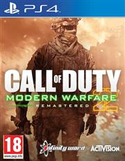 Call of Duty Modern Warfare 2 Remastered Playstation 4