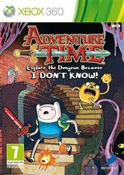 Adventure Time Explore The Dungeon Because I Dont Know Xbox 360