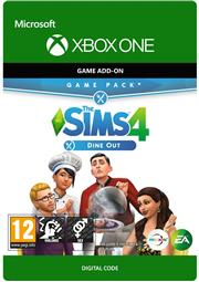 The Sims 4 Dine Out Add-on (Digitaal Code) Xbox One