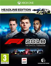 F1 2018 (Headline Edition) Xbox One