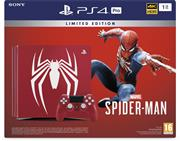 Sony Playstation 4 Console 1 TB (PRO) Marvel's Spider-Man Special Edition