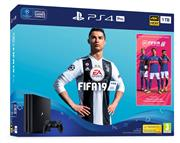 Sony Playstation 4 Console 1 TB (Pro) Zwart Set Pack + Fifa 19