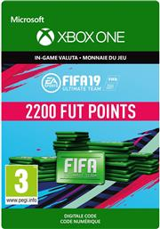 Fifa 19 Ultimate Team 2.200 Points (Digitaal Code) Xbox One