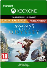 Assassin's Creed Odyssey Gold Edition (Digitaal Code) Xbox One
