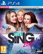 Let's Sing 2019 + 1 Microfoon Playstation 4