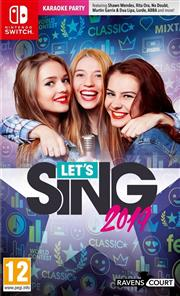 Let's Sing 2019 + 1 Microfoon Nintendo Switch