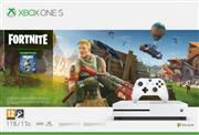 Microsoft Xbox One S Console Wit (1 TB) + Fortnite