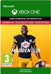 Madden NFL 19 Ultimate Team Starter Pack (Digitaal Code) Xbox One