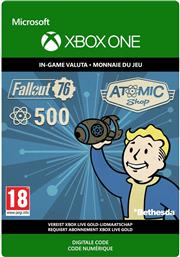 Fallout 76 500 Atoms (Digitaal Code) Xbox One