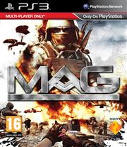 Massive Action Game (MAG) Playstation 3