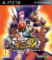 Super Street Fighter 4 (IV) PlayStation 3
