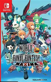 The World Of Final Fantasy Maxima Nintendo Switch