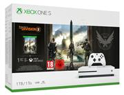 Microsoft Xbox One S Console Wit (1 TB) + Tom Clancy's The Division 2