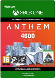 Anthem 4.600 Shards Pack (Digitaal Code) Xbox One
