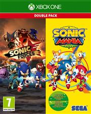 Sonic Forces + Sonic Mania Plus (2 in 1 Double Pack) Xbox One