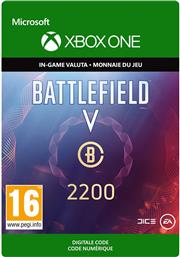 Battlefield 5 (V) Battlefield Currency 2.200 (Digitaal Code) Xbox One