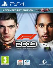 F1 2019 (Anniversary Edition) Playstation 4