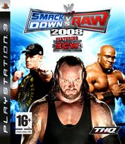 WWE SmackDown vs. Raw 2008 PlayStation 3