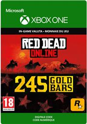 Red Dead Redemption 2 - 245 Gold Bars Consumable (Digitaal Code) Xbox One