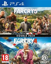 Far Cry 4 & Far Cry 5 (2 in 1 Double Pack) Playstation 4