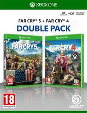 Far Cry 4 & Far Cry 5 (2 in 1 Double Pack) Xbox One