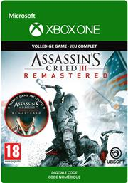 Assassin's Creed 3 Remastered (Digitaal Code) Xbox One
