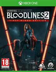 Vampire The Masquerade Bloodlines 2 (First Blood Edition) Xbox One