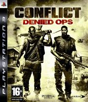 Conflict Denied Ops PlayStation 3