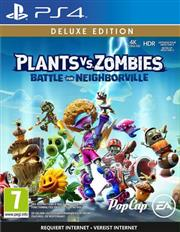 Plants vs. Zombies Battle for Neighborville (Deluxe Edition) Playstation 4