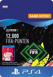 Fifa 20 Ultimate Team FUT - 12.000 Points (Digitaal Code) Playstation 4