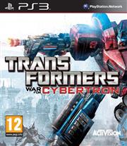 Transformers War for Cybertron PlayStation 3