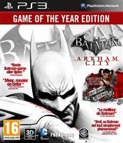 Batman Arkham City Game of the Year Edition PlayStation 3