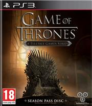 Game of Thrones A Telltale Games Series PlayStation 3