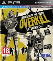 House of the Dead Overkill Extended Cut PlayStation 3