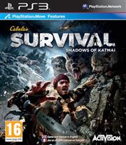 Cabela's Survival Shadows of Katmai PlayStation 3