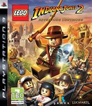 Lego Indiana Jones 2 The Adventure Continues PlayStation 3