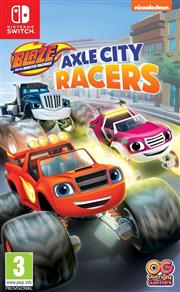 Blaze and the Monster Machines Axle City Racers Nintendo Switch