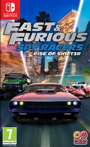 Fast & Furious Spy Racers Rise of SH1FT3R Nintendo Switch