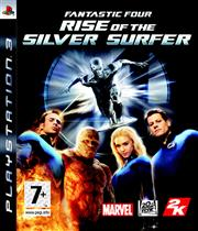 Fantastic Four Rise of the Silver Surfer PlayStation 3