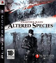 Vampire Rain Altered Species PlayStation 3