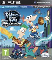 Phineas and Ferb Across the Second Dimension Playstation 3