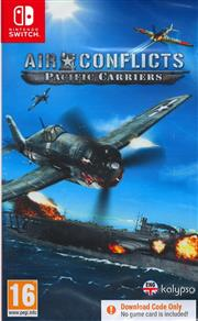 Aanbieding Air Conflicts Pacific Carriers (Code in a Box) Nintendo Switch