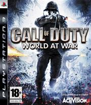 Call of Duty World at War PlayStation 3